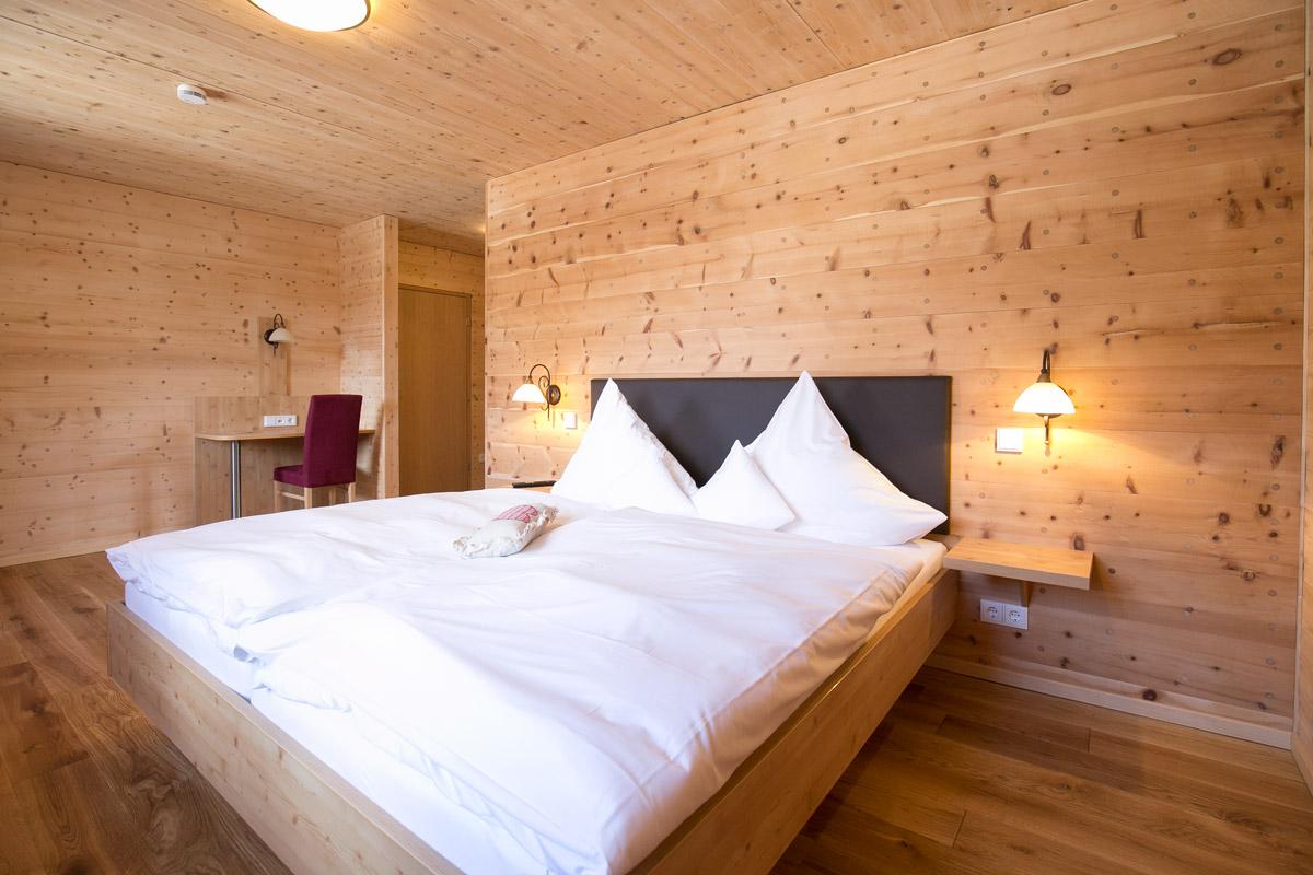 Doppelzimmer Holzhaus